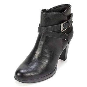 Rialto Pamela Black Women's Heeled Boots NWT